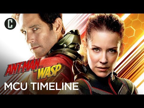 Where Ant-Man and the Wasp Fits into the MCU Timeline