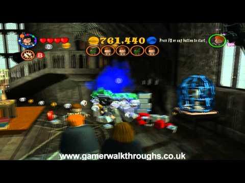 Lego harry potter walkthrough - Reducto