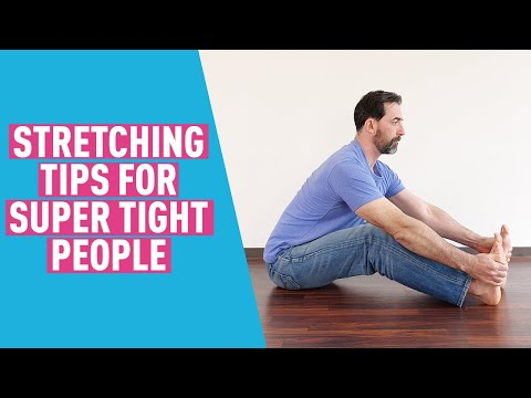 Too Stiff to Stretch? Here's how to adjust any stretch, even if you're really stiff