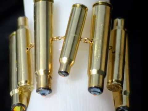 Upcycled Bullet Casing Jewelry
