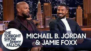 Michael B. Jordan and Jamie Foxx Recall Filming Just Mercy