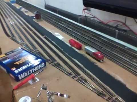 Layout update #6 HO scale rail yard almost complete