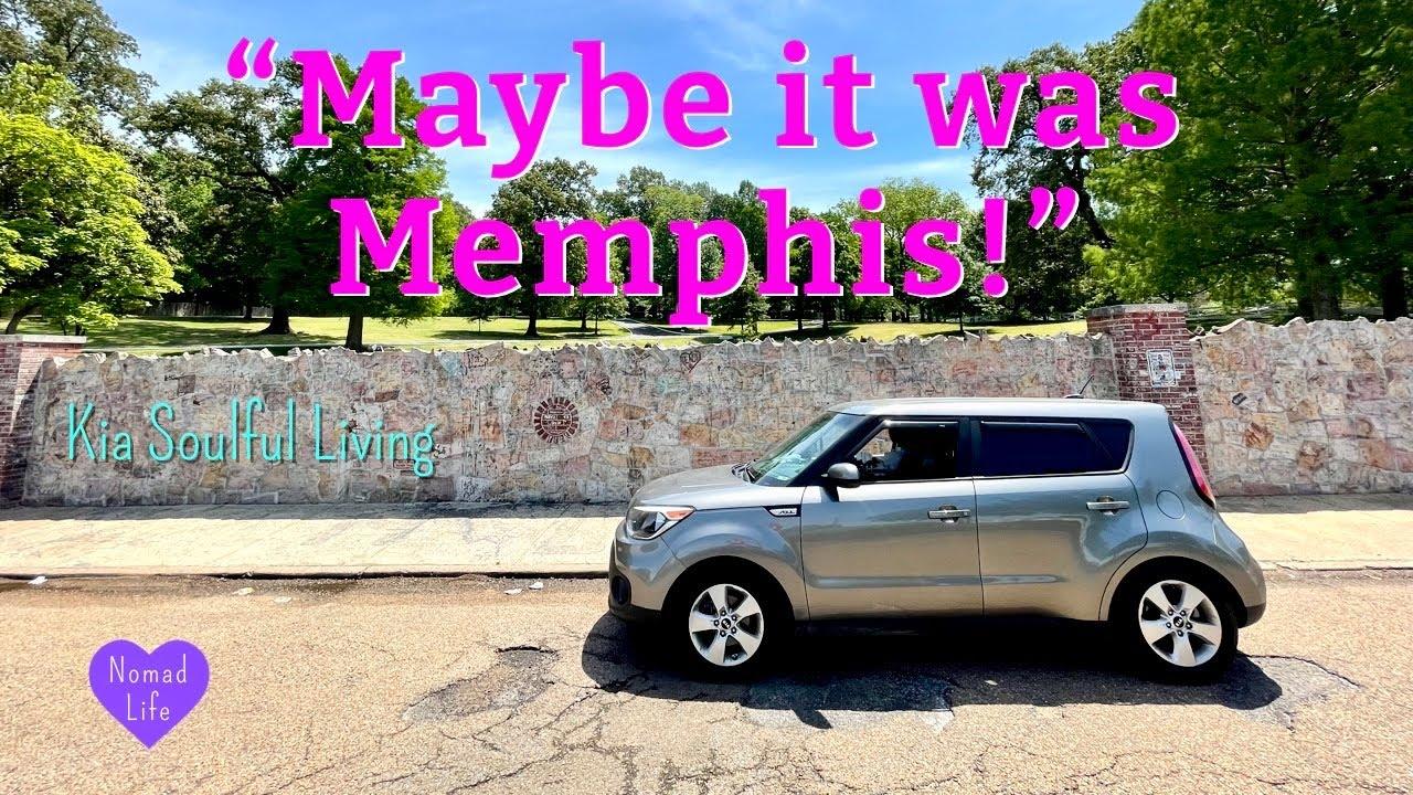 """Maybe it was Memphis!"" Leaving Florida! Heading to GA, AL, TN & AR! ~ Kia Soulful Living"