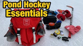 Pond Hockey Essentials for any player - Must have things for ODR