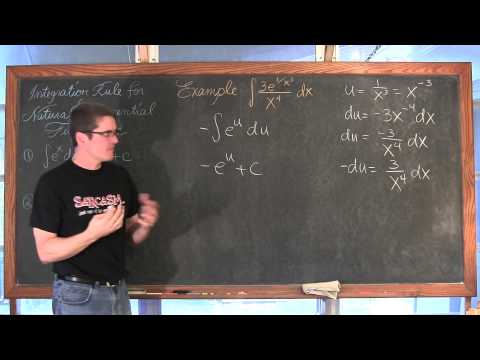 Integration of Natural Exponential Functions