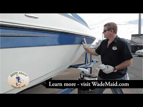 Restoring Faded RV Fiberglass Finish With Buffer