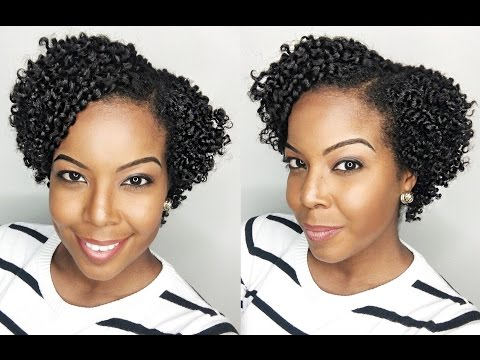 How To: Flat Twist Out on Short Natural Hair / TWA
