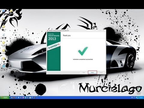 How to activate Kaspersky Internet Security 2013 with a key file