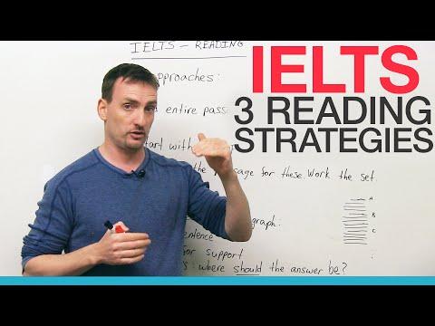 IELTS – 3 Reading Strategies