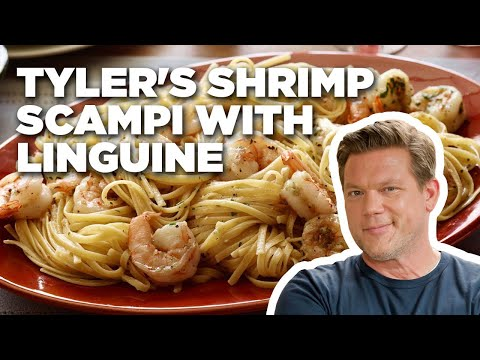 Tyler's Shrimp Scampi with Linguine | Food Network
