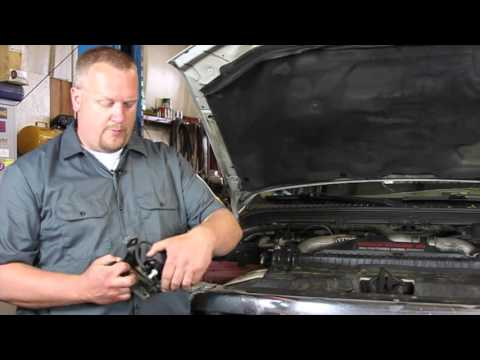 Ford 6.0 Powerstroke Electric Vacuum Pump Replacement