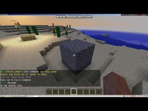 Minecraft Server.pro #1 : Hướng Dẫn Claim Spawn