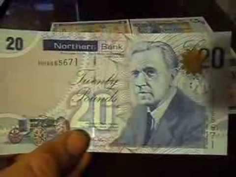 Northern Ireland Banknotes Северная Ирландия Tuaisceart Éireann