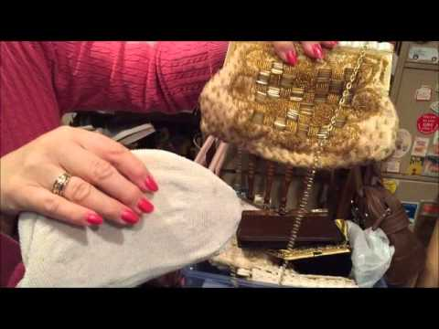 vintage purses, buying and selling for eBay vintage video #5