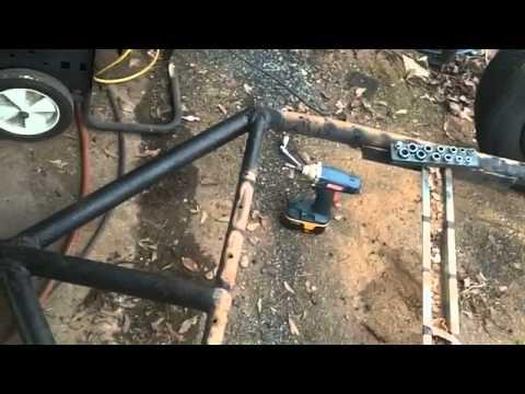 Motorcycle trailer build pt1