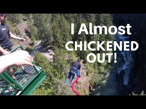 I went to drive a car and ended Bungee Jumping in Whistler, Canada