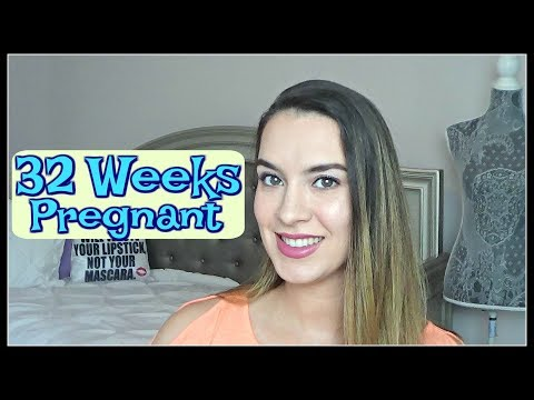 32 Weeks Pregnant Update | Early Signs Of Labor, Baby Purchases + Appointment