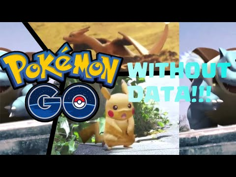 How To Play Pokemon Go Without Data 3G Or 4G- IOS And Android