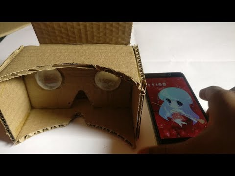 How to make a VR Cardboard for your smartphone without loosing money!