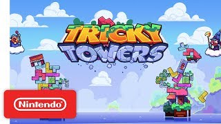 Tricky Towers - Launch Trailer - Nintendo Switch