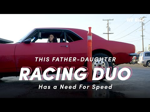 This Father-Daughter Duo Has a Need For Speed