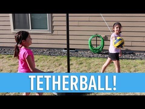 KIDS PLAYING TETHERBALL