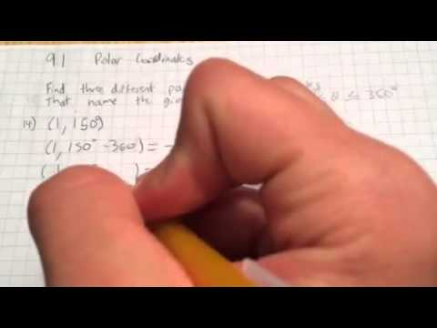 9-1 | Finding Equivalent Polar Coordinates