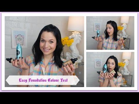 Easy Foundation Colour Test