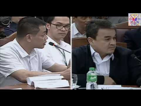 Herbert Colangco Asked In Congress Coerced To Sell Drugs By Leila De Lima