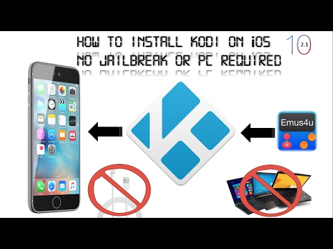 Installing Kodi + Addons On Your iDevice Runninng iOS 10.2.1 No Jailbreak  or PC Required