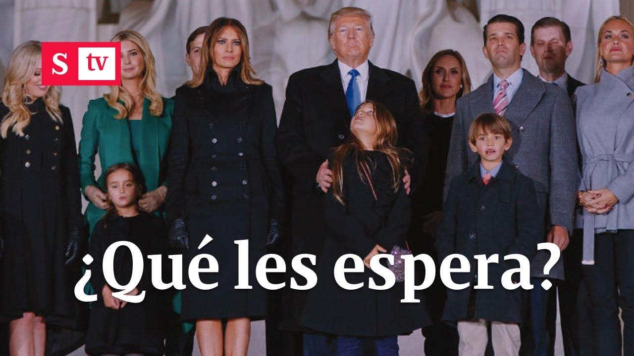 ¿Qué le espera a los hijos de Donald Trump una vez dejen la Casa Blanca?   Semana Noticias