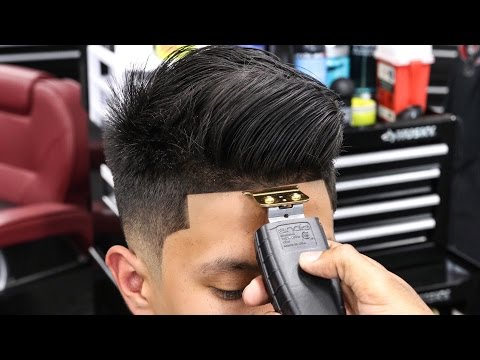 HAIRCUT TUTORIAL: RICHIE LE COMBOVER LOW FADE