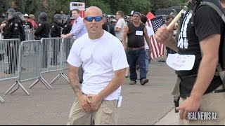 Armed anti-Islam protesters fail to intimidate Phoenix Mosque