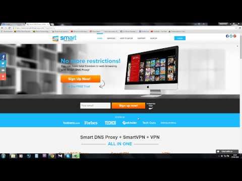 Smart DNS Proxy Demonstration HD