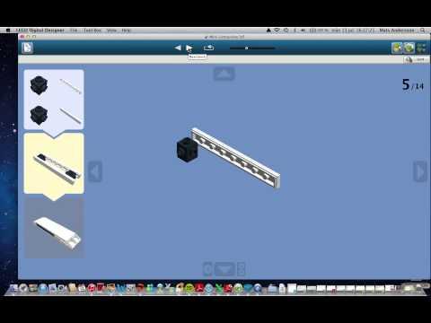 How to Build a Mini Lego Limousine