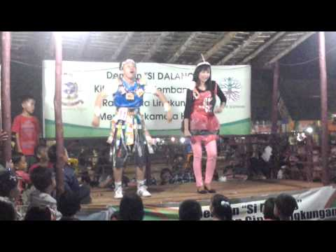 lomba joget cesar with Olympia Gym dalam Sukamara fair stand BLH