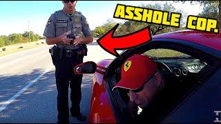 The asshole cop gets his revenge and I get a citation