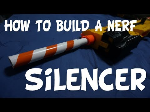 How To Make A Nerf Silencer!!
