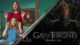 Gay Of Thrones S7 E1 Recap: Dragonweave