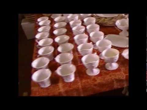 FOR SALE::Milk Glass lot 'Colony Harvest Indiana glass milk glass