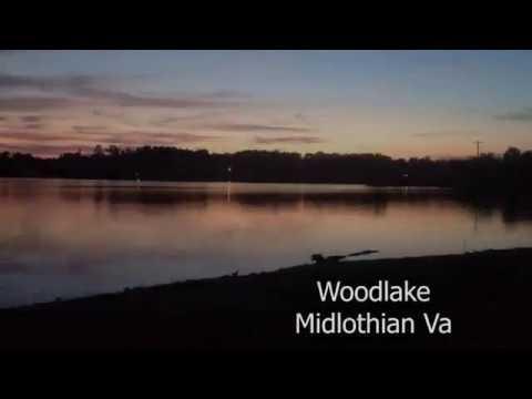 May 12, 2018 Vlog #108 Reverse sunset over Woodlake in Midlothian Va.