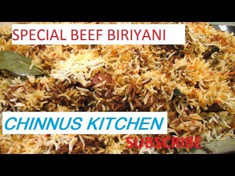 Beef Biryani-Kerala Recipe||ബീഫ് ബിരിയാണി || Recipe in Malayalam