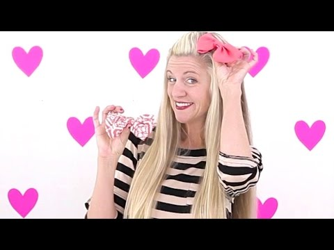How to make Fabric Bows + Hair Bows