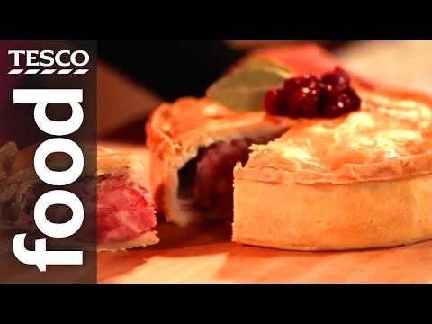 How to Make a Christmas Pork Pie | Tesco Food