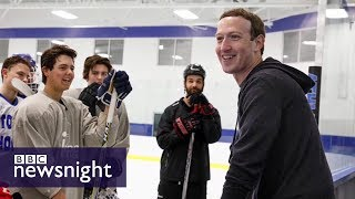 Does Mark Zuckerberg want to run for President? - BBC Newsnight