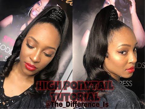 How to do a Quick Sleek High Ponytail Tutorial | Elemo Hair