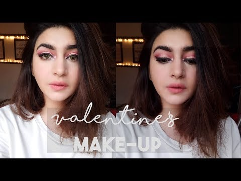 THE PERFECT VALENTINE'S DAY LOOK | Pink Valentine Glam | GLOSSIPS