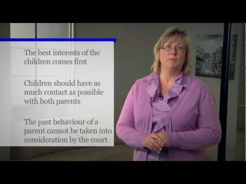 How Are Decisions Made About Custody in Ontario