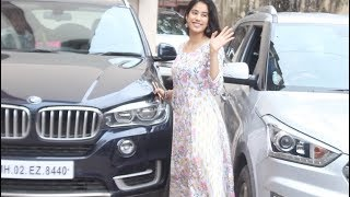 Janhvi Kapoor Spotted At Khar Gym