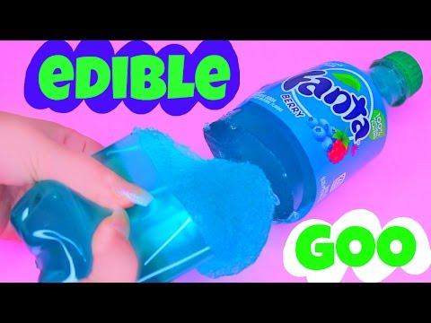 EDIBLE GOO! How To Make Real Berry Fanta Rainbow Milk Pudding Jelly DIY 리얼 콜라 푸딩 젤리 만들기
